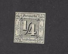 GERMANY -  GERMAN STATES - THURN & TAXIS -# 15  - USED - 1863 - BLACK -