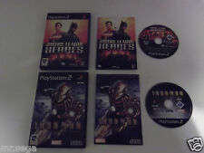 JUSTICE LEAGUE HEROES & IRON MAN for PLAYSTATION 2 'VERY RARE & HARD TO FIND'