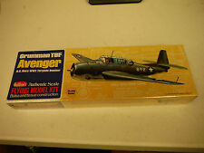 "Avenger 16.5"" #509 Guillows Balsa Wood Model Airplane Kit"