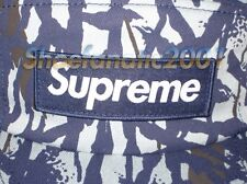 Supreme Box Logo Reed Camo Blue 5 Panel Cap Comme des Garcons Blazer