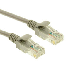 1.5 M Cavo Ethernet Cat5e RJ45 RETE LAN PATCH LEAD 100% RAME 2xRJ45 PLUG