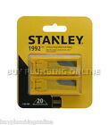 Stanley Knife Blades Heavy Duty 1992B (2 Packs of 10) 198460