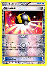 POKEMON Ultra Ball 93/108 - XY Roaring Skies - Uncommon Reverse Holo MINT/NM
