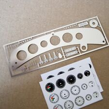 Dashboard transkit for all Alfa Romeo 8C by Pocher 1/8