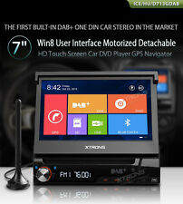 "Universal - Single One Din,7""HD Touch Screen,DVD'GPS Navigator With DAB Function"