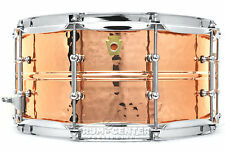 Ludwig Copper Phonic Snare Drum 14x6.5 Hammered w/ Tube Lugs - LC662KT