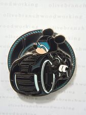 Disney Sci-Fi Academy TRON LEGACY MICKEY As Sam Flynn Lightcycle Light Disc Pin