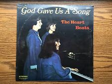 THE HEART BEATS GOD GAVE US A SONG LP RECORD ALBUM *SEALED* ITEM #1440