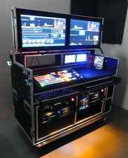 TC2GO Airpack 2  Airpack rolling production flight case Tricaster Mobile Video