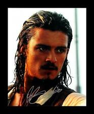 ORLANDO BLOOM AUTOGRAPHED SIGNED & FRAMED PP POSTER PHOTO