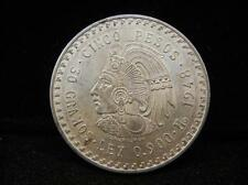 1948 5 Peso 90% Silver Larger, Heavier and more Silver than a Morgan S... Lot 8K