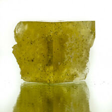 """1.6"""" Gemmy Hilton Mine FLUORITE Butter Yellow Cubic Crystal England for sale"""