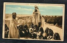 Dated 1943 View of a North African Tuorge Dance Group