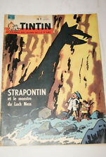TINTIN JOURNAL  N°10 - 1961  EDITION BELGE