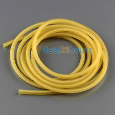 1M Natural Latex Rubber Surgical Elastic Band Tube For Outdoor Slingshot 1842