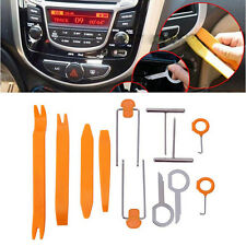 Car Radio Door Clip Panel Trim Dash Audio Removal Pry Tool Kit Plastic 12pcs/set