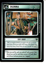 STAR TREK CCG FIRST CONTACT RARE CARD OOBY DOOBY