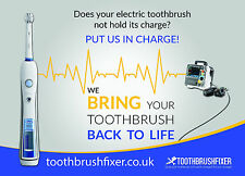 New Style Oral-b Triumph Battery Replacement Service