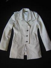 Rinascimento Baci Italy Military Mantel Wolle Größe M bzw. 36 38 creme / Jacke