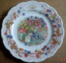 Royal Doulton Collectors Plate AUTUMN From BRAMBLY HEDGE