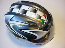 CASCO INTEGRALE AGV AIRTECH TRIBUTE ANTRACITE NERO BIANCO XL HELMET CASQUE HELM