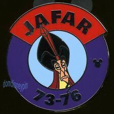 Disney Pin WDW 2013 Hidden Mickey *Magic Kingdom Villain Parking* Jafar!