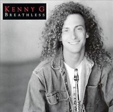 New In Factory Sealed Case Kenny G Breathless 5 Star Rated CD....