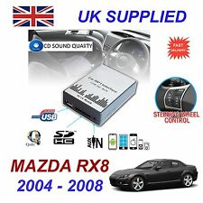 MAZDA RX8 04-08 MP3 SD USB CD AUX Input Audio Adapter Digital CD Changer Module