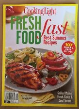 Cooking Light Fresh Food Fast Best Summer Recipes Treats 2015 FREE SHIPPING!