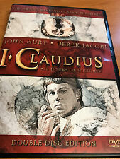 I CLAUDIUS : BBC MINI SERIES - DVD SET - John Hurt - Derek Jacobi UNCUT