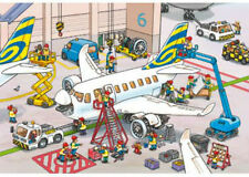Ravensburger Around The Airplane 2 x 24 Piece Jigsaw Puzzles