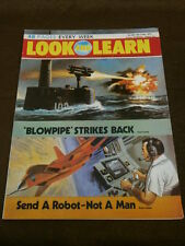 LOOK and LEARN #596 - SEND A ROBOT NOT A MAN - JUNE 16 1973
