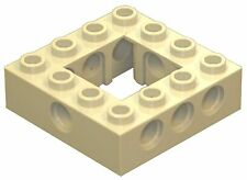 Missing Lego Brick 32324 OldGray Technic Brick 4 x 4 with Open Center 2 x 2