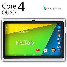 NeuTab® Quad Core Google Android 4.4 KitKat 8GB N7 Pro 7'' Wi-Fi Tablet - White