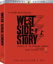 WEST SIDE STORY 2 DISC SPECIAL EDITION COLLECTOR'S SET + BIG BOOK W/Photos&More