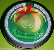 The BODY Shop GLAZED APPLE Body Butter * 200 ml NEW LARGE Holiday