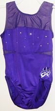 NEW! Aly Raisman Swarovski jeweled GK Gymnastics Leotard E2337 Size AXL