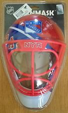 New York Rangers NHL Netminder Goalie Helmet Mask