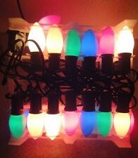 Holiday Time Christmas Xmas Indoor Outdoor C9 Light Bulb String Lights Decor