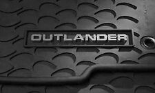 OEM All Weather 4 Piece Floor Mats Outlander Genuine Mitsubishi Parts '07-'13