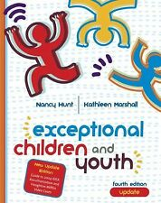 Exceptional Children And Youth by Nancy Hunt