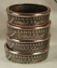 Custom Handmade Coin Rings from State quarters Sizes 5-14 Double Sided Rings