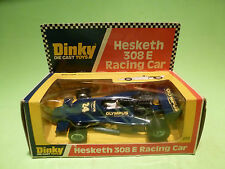 DINKY TOYS 222 HESKETH 308E RACING CAR - OLYMPUS - RARE SELTEN - GOOD IN BOX