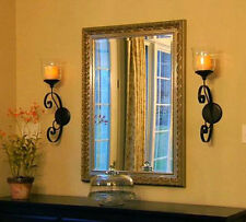 """Candle Impressions Set/2 Windsor Sconce with 4"""" wax Flamless Candle 5 hr timer"""