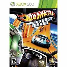 Hot Wheels: World's Best Driver XBOX 360 Brand New Factory Sealed