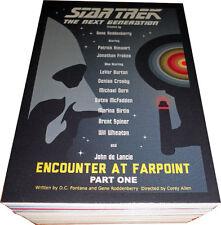 Star Trek TNG Portfolio Prints Series 1 Complete 89 Card Base Set