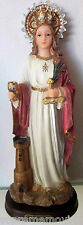 NEW -  Santa Barbara / Saint Barbara STATUE 12 Inch 6274-12 NEW