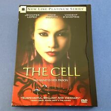 The Cell (DVD/2000) Tarsem Singh Jennifer Lopez/Vince Vaughn/Vincent D'Onofrio