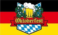 OKTOBERFEST FLAG 5' x 3' Germany Beer Festival German Bar Club Party VW Show