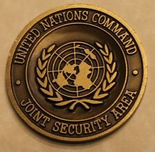 United Nations Command Joint Security Area Pan Mun Jom Korea DMZ Challenge Coin